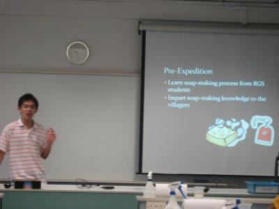 Vincent's presentation